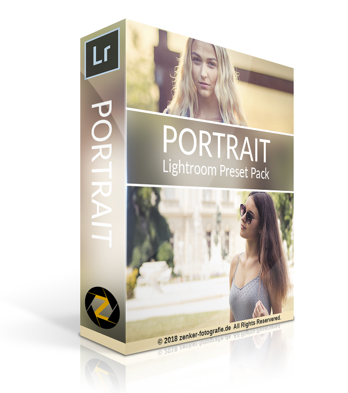 Lightroom Portrait Preset Pack